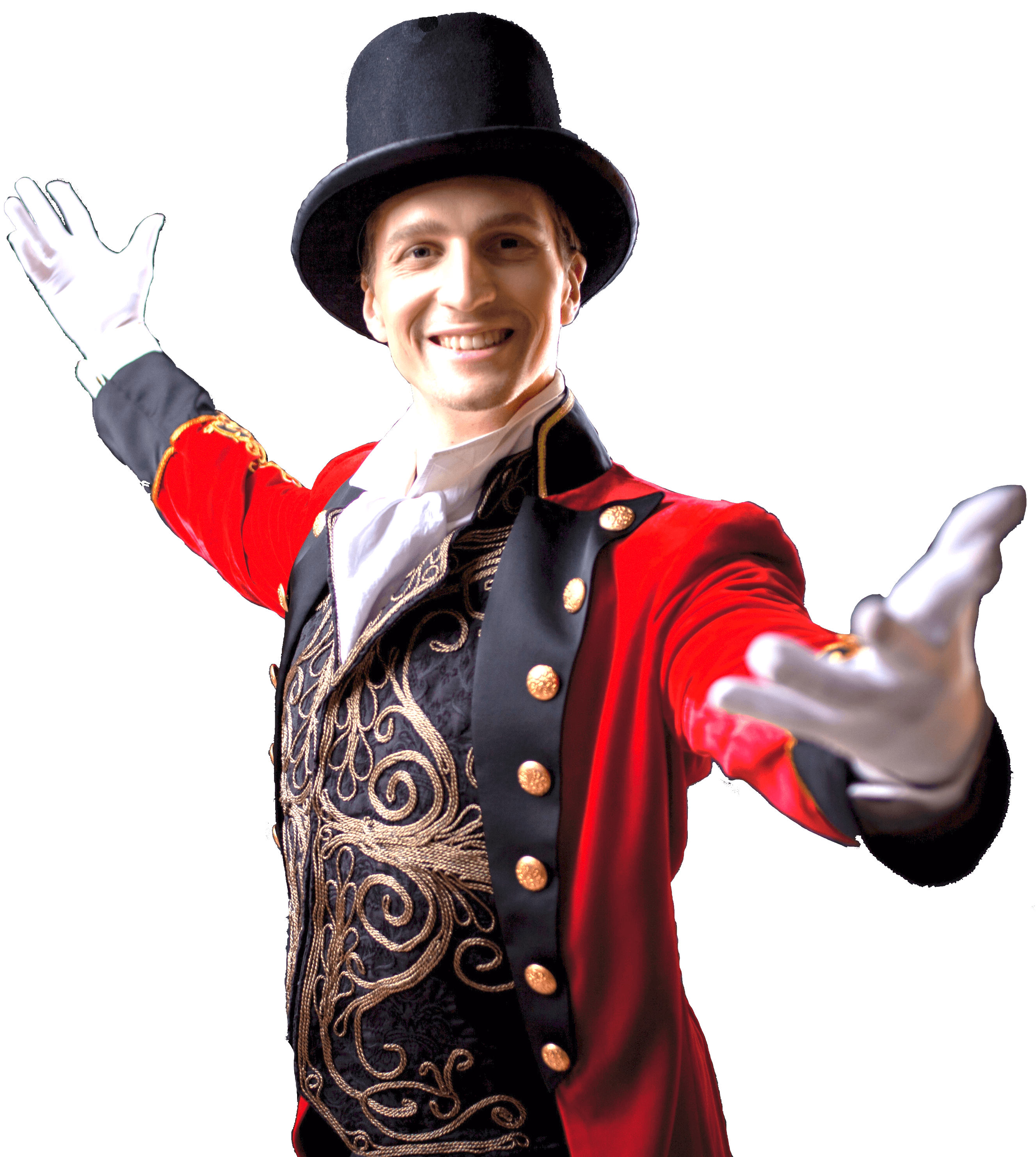 ההצגה הטובה ביותר בקמפוס - Young male entertainer, presenter or actor on stage