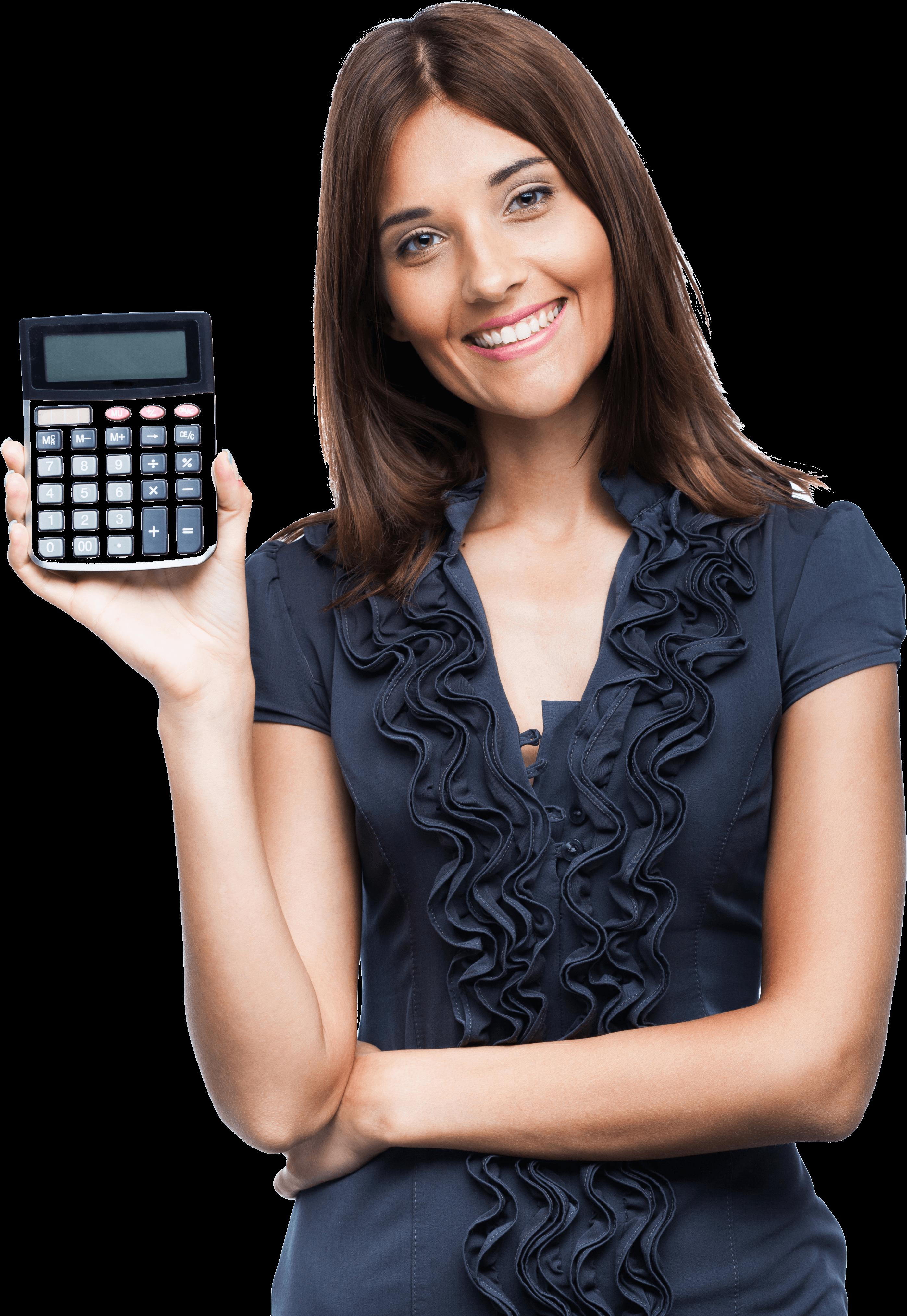 המספרים מדברים בעד עצמם - woman-with-calculator