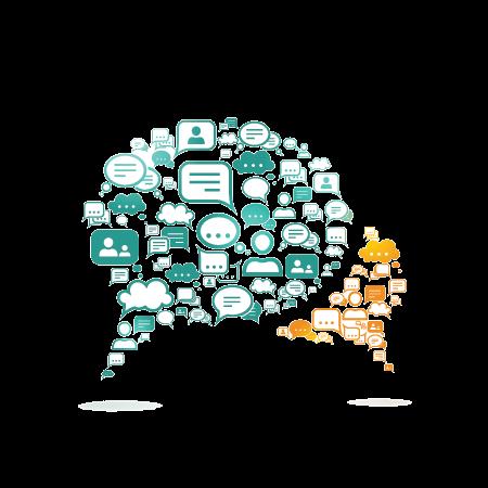 דיאלוג פתוח לקידום למידה ועבודה משותפת - בועות דיבור המכילות עוד בועות דיבור