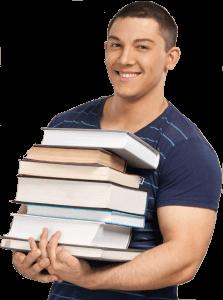 מרוב מילים לא רואים את החומר - college-student-student-book