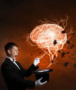 כוח המוח - demonstrating magic