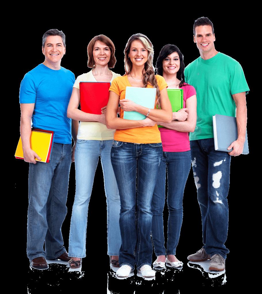 ללמד איך ללמוד - Group of smiling students
