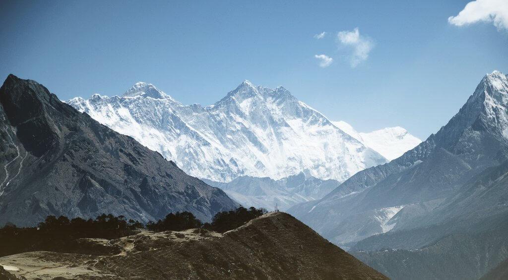 להגיע לפסגת האוורסט - Everest